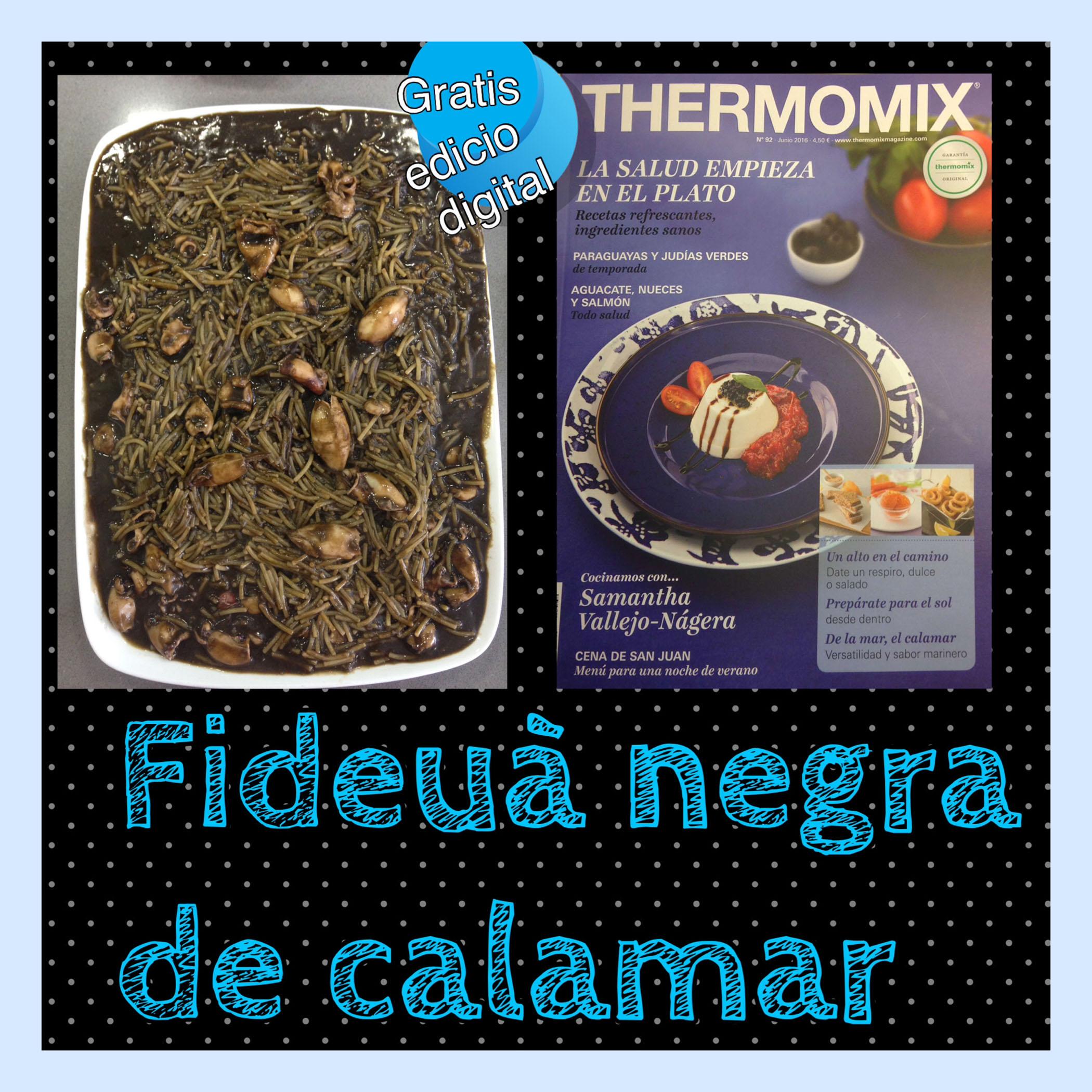 FIDEUÀ NEGRA DE CALAMARS