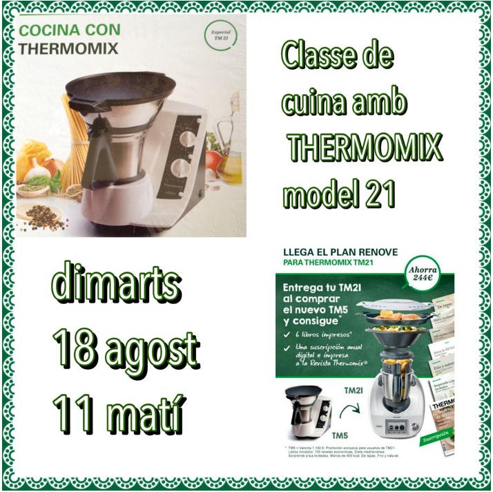 CLASSE DE CUINA AMB Thermomix® TM-21