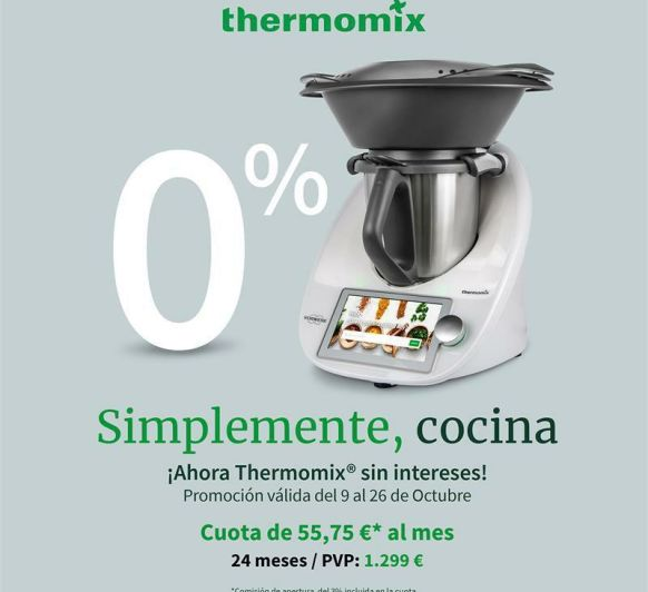 Thermomix® TM6 SENSE INTERESSOS