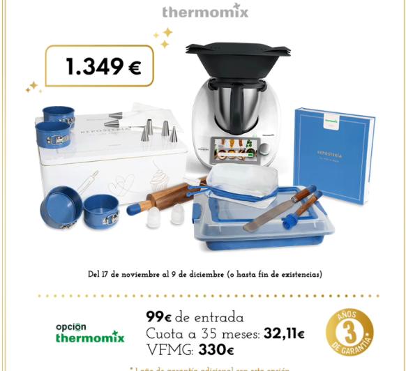 Thermomix® EDICIÓN DULCE NAVIDAD 2020
