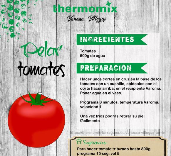 Recetas Thermomix® - Pelar tomates