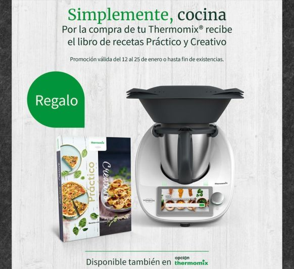 Thermomix® TM6 - REGAL LLIBRE ''PRÁCTICO Y CREATIVO''