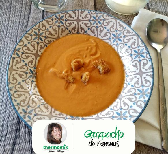 Receta Thermomix® - Gazpacho de Hummus