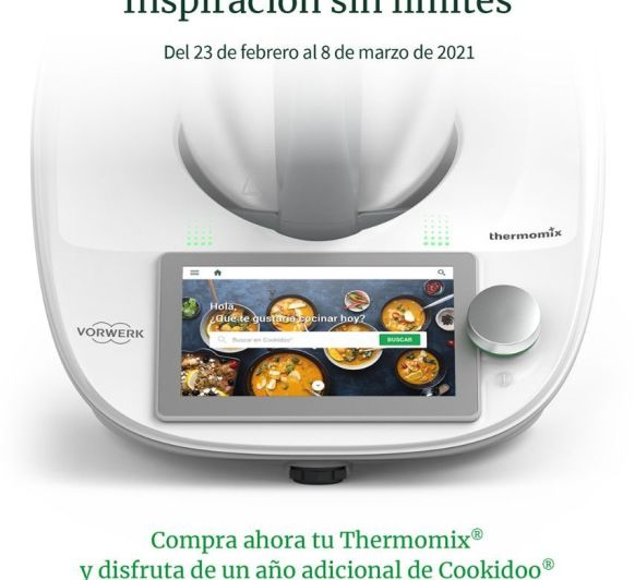 Thermomix® Y COOKIDOO® SIN LIMITES, OPCIÓN Thermomix®