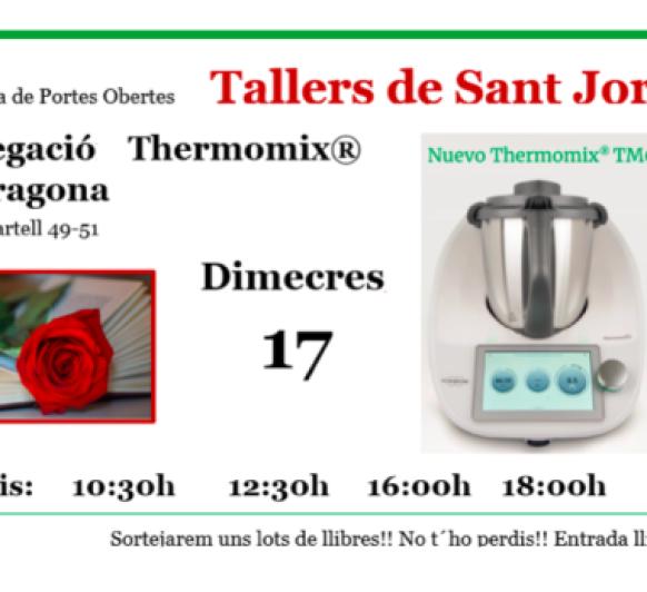 Thermomix® PORTES OBERTES SANT JORDI