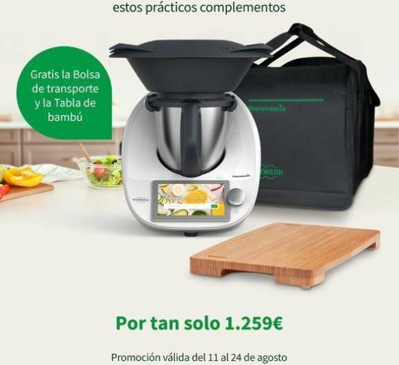 Thermomix® TM6 + bolsa de transporte + tabla de cocina
