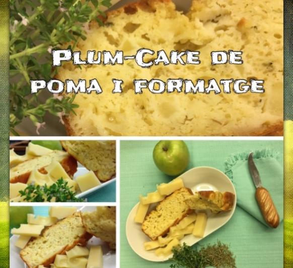 PLUM-CAKE CREMÓS DE POMA I FORMATGE
