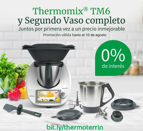 Comprar Thermomix® - Promoción Segundo Vaso y Sin interes al 0%