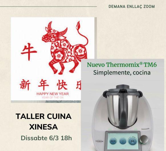Taller Cuina Xinesa!!!