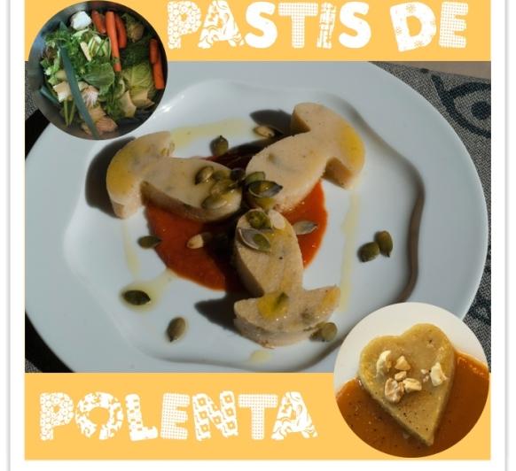 PASTÍS DE POLENTA AMB ESPÀRRECS (gluten free)