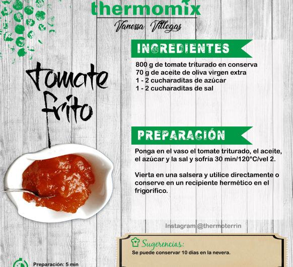 Receta Thermomix® - Tomate frito - Consejos