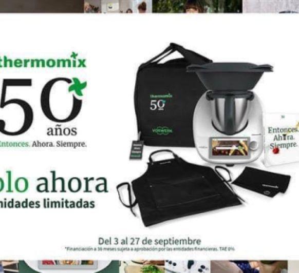 50 ANYS DE Thermomix® , amb una edició ÚNICA i SUPER ESPECIAL. TRIPLE 0