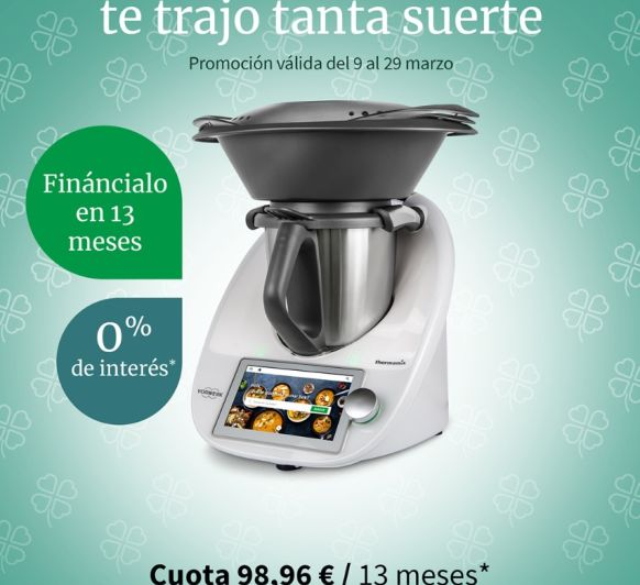 Thermomix® TM6 sin intereses 0%
