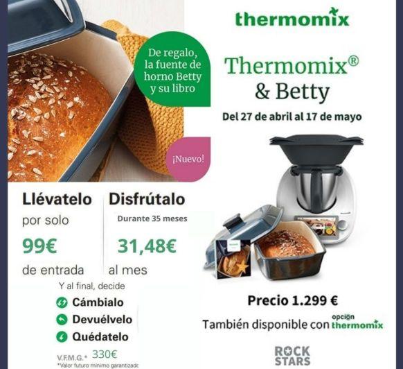 No la tienes por que no quieres... la mejor financiación para tu Thermomix® !!!